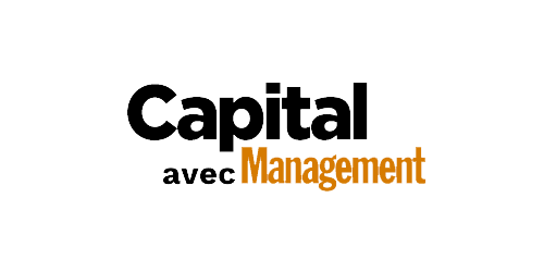 Logo de Capital avec Management - Presse RBMG