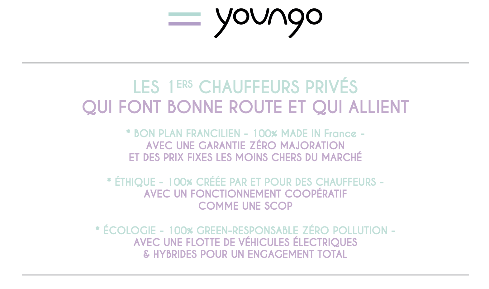Youngo, le VTC Green